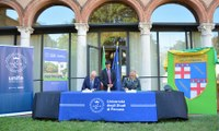 Guardia di Finanza - Unife: firmata la convenzione per iscriversi a Giurisprudenza