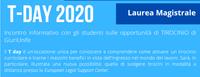 T-day: incontro informativo sulle opportunità di TIROCINIO - Laurea Magistrale sedi di Ferrara e Rovigo